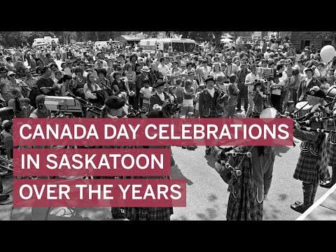 Historical Photos: Canada Day Celebrations In Saskatoon Over The Years