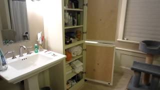 2012.11.30 Bathroom Cabinet Door Diy Project Finished
