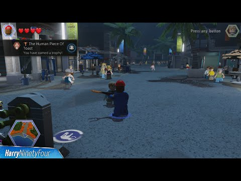 LEGO Jurassic World  The Human Piece of Toast Trophy  Achievement Guide