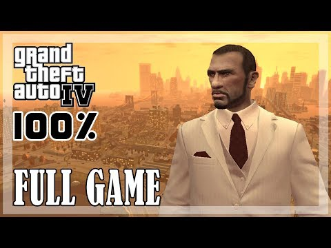 GTA 4 - All Missions | 100% Full Game [PC, 1080p, 60fps]