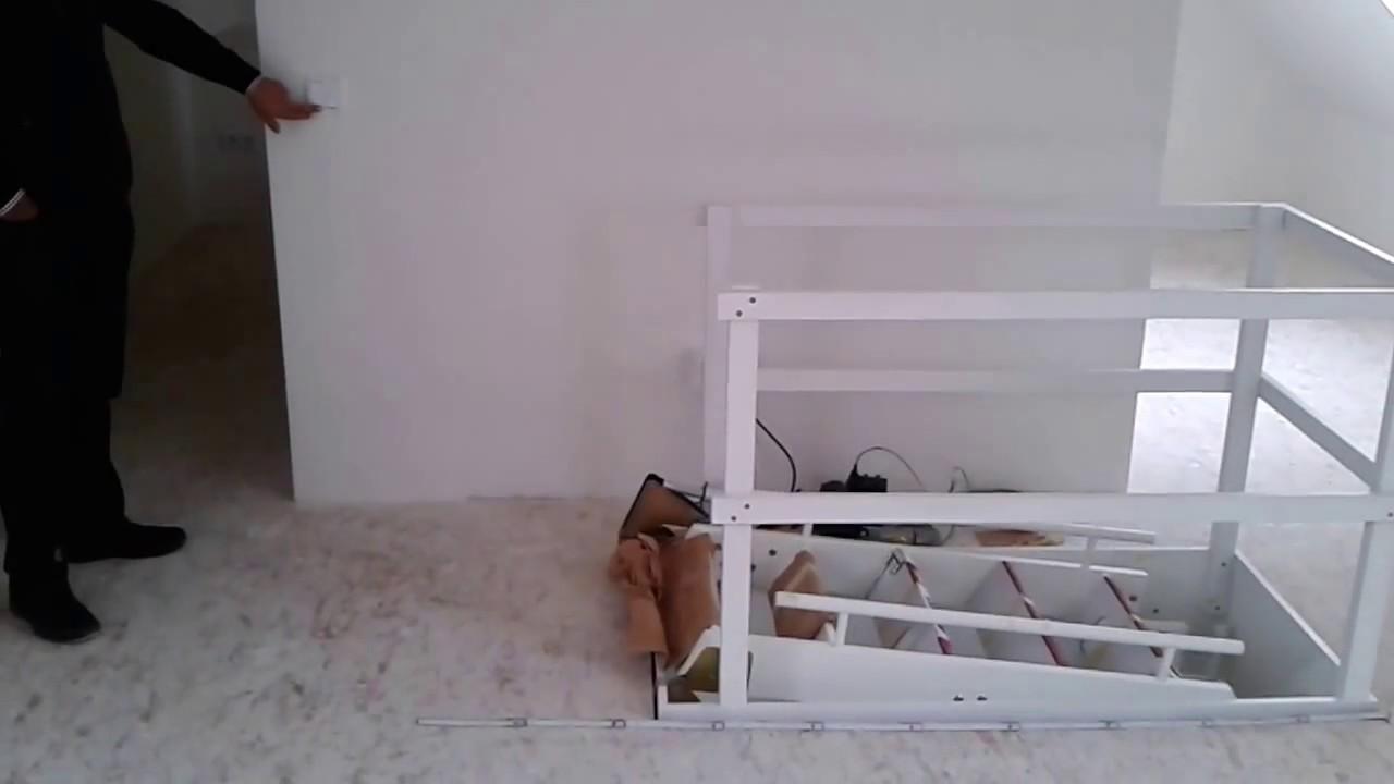 elektrische bodentreppe elda bt2 (oben) - youtube