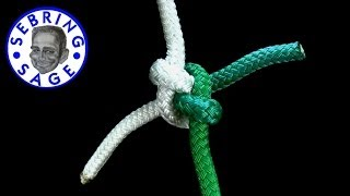 Knot Tying: The Carrick Bend