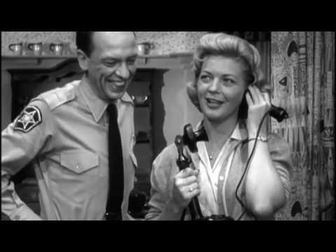 1961 The Andy Griffith  S02E08 Gail Davis The Perfect Female Aqua Sierra Sportsmans Club ped