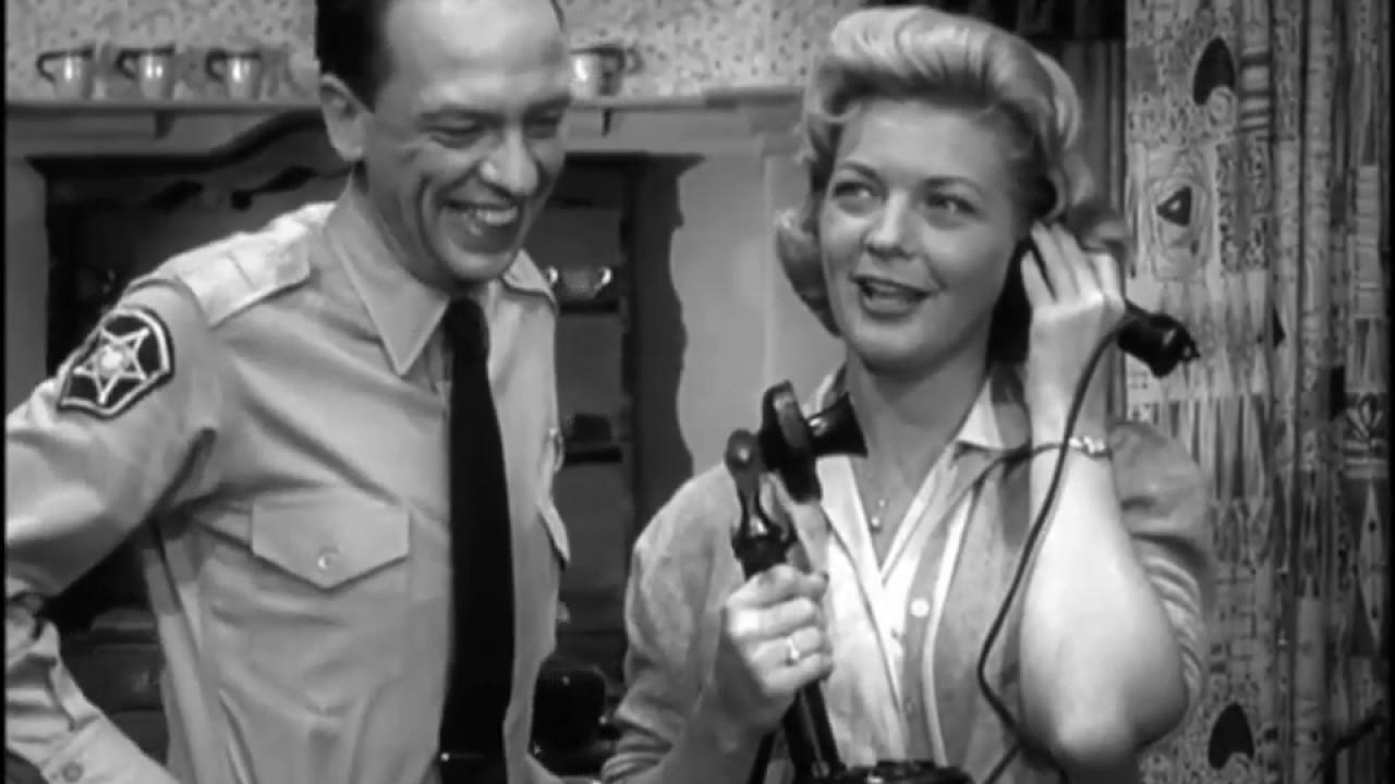1961 The Andy Griffith Show S02E08 Gail Davis The Perfect Female Aqua Sierra Sportsmans Club clipped