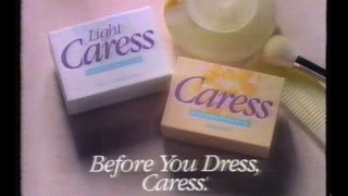 Caress Soap Commercial, Feb 26 1993
