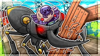 I Became A TOTALLY ACCURATE Spider And Built A Mechanical Ant in Webbed