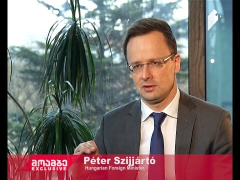 Interview with Hungarian Foreign Minister Péter Szijjártó