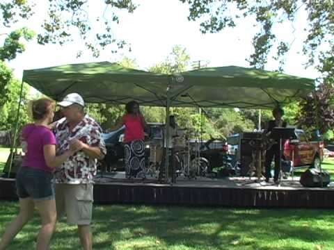 Show at Tahoe Park-The BluSoul Band