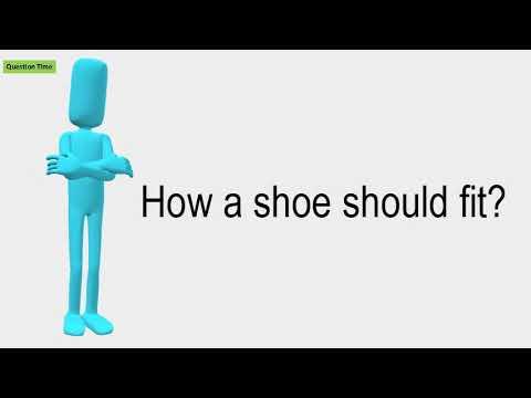 How A Shoe Should Fit?