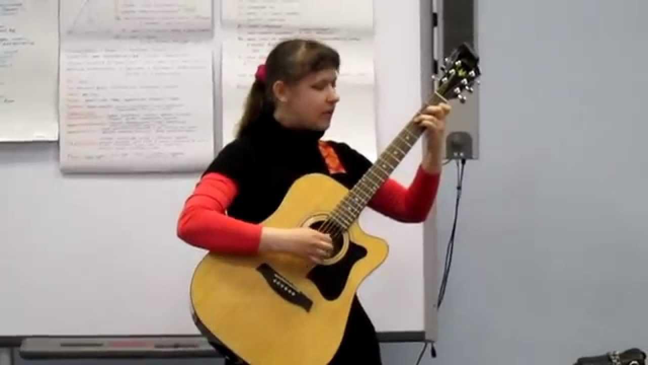 ВКаменский  Анна играет фугу текст песни слова