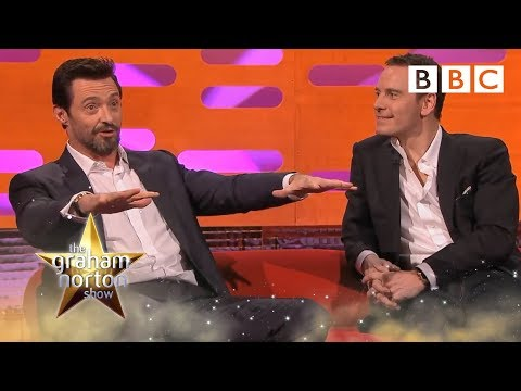 Hugh Jackman talks about running naked on set - The Graham Norton Show: Series 15 Episode 5 - BBC