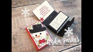Christmas Tic Tac Treat Holder - Facebook Live Broadcast