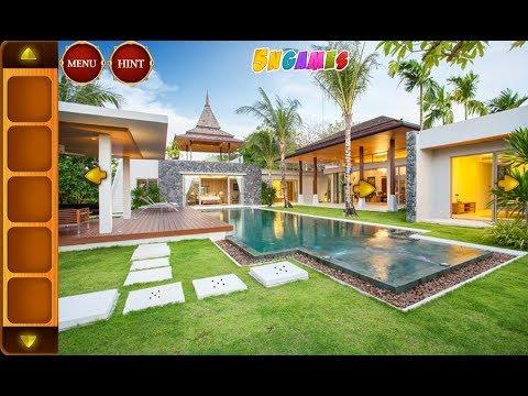 Can You Escape Luxury Pool Villa Walkthrough [5nGames ...