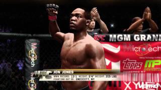 UFC 3 Jon Jones vs Anderson Silva Gameplay (HD 1080p)