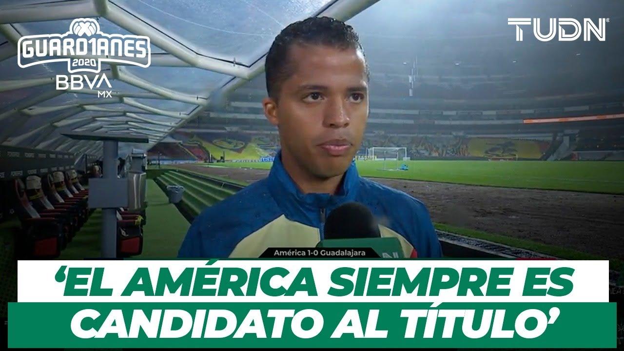¡El héroe del Clásico! Giovani dos Santos habla tras la victoria sobre Chivas | TUDN