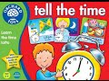 Learn to tell the time game for children - Learning the clock