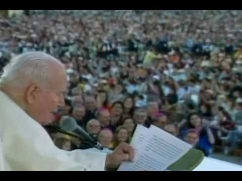 El beato Juan Pablo II y los niños