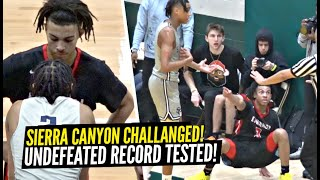 Brandon Boston Gets CHALLENGED & RESPONDS w/ 31!!! Sierra Canyon Game GETS HEATED & CONTROVERSIAL!!