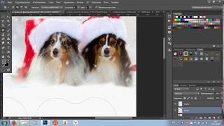Как вставить фото в пустышку или рамку в фотошопе 2 часть