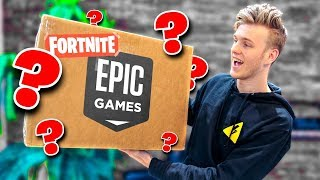 Popular unboxing video created by Lachlan: Unboxing A Fortnite Package from Epic Games!