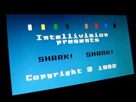 Shark! Shark! (Mattel Intellivision)