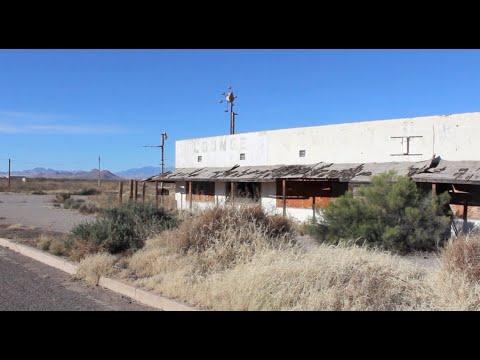 RAMBO Fictional Hometown - ABANDONED - Bowie Arizona