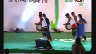 Super Rhythemic Music Video of Tamil folk Parayattam (Thappattam) by Students