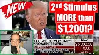 TRUMP: MORE than $1,200 NEXT Stimulus Payment!!?? (Jobs Numbers are in!!) NEW CHART!