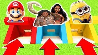 DO NOT CHOOSE THE WRONG SECRET BASE: (MOANA,MAUI, MARIO,MINIONS) Ps3/Xbox360/PS4/XboxOne/PE/MCPE) thumbnail