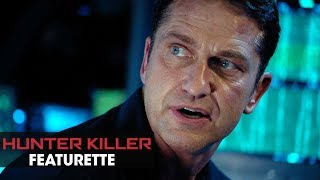 "Hunter Killer (2018 Movie) Featurette ""Beneath the Surface"" - Gerard Butler, Gary Oldman, Common"