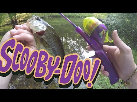 SCOOBY DOO ROD BASS FISHING CHALLENGE