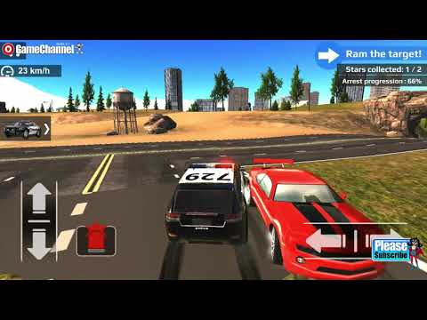 Crime City Police Car Driver / Police SUV 4x4 Pickup Driver Games / Android Gameplay Video