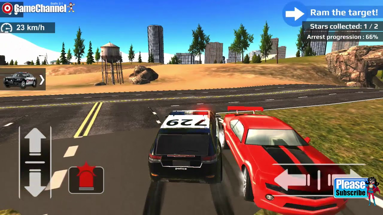 Police Car Driving Off Road Simulation Car Games Videos Games