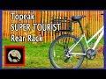 Installing the Topeak UNI SUPER TOURIST DX Rear Rack for Bikepacking