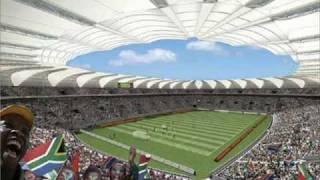 LES STADES DE LA COUPE DU MONDE 2010 DE FOOTBALL EN AFRIQUE DU SUD     PAR W.MEZ   N°17