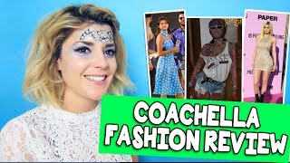 COACHELLA FASHION REVIEW // Grace Helbig
