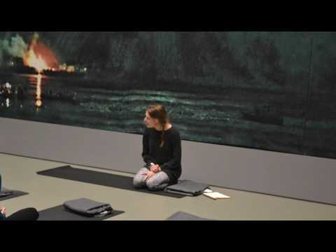 Yoga in Centraal museum