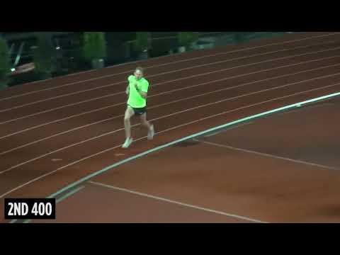 Galen Rupp Workout Wednesday | Post Race 400s