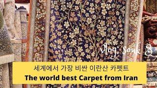 Vlog ENG 세계 최고 이란산 카펫, 가격 선별방법…