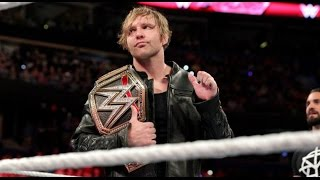 WWE Funny Moments Dean Ambrose !!!