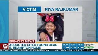 Girl, 11, subject of Amber Alert found dead in Brampton