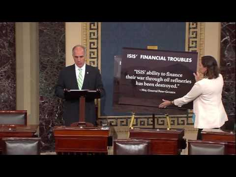 Casey takes to Senate Floor to Discuss ISIS and Terrorism Financing