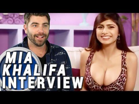 MIA KHALIFA FAKE INTERVIEW w. Michael McCrudden