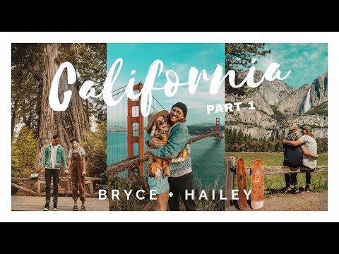 REDWOODS + SAN FRANCISCO + YOSEMITE (CALIFORNIA PART 1)