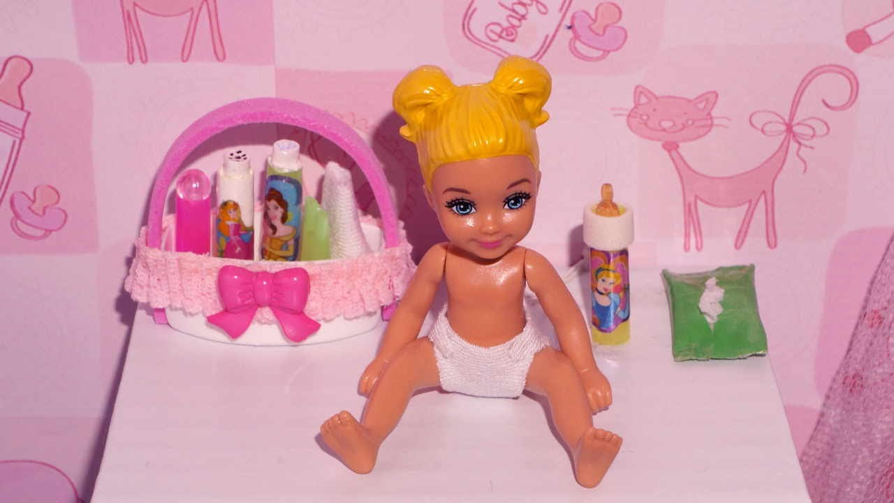 ... lenços para bebê de boneca Monster High, Barbie, etc - YouTube
