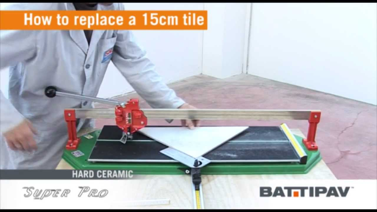Super pro 750 manual tile cutter youtube super pro 750 manual tile cutter dailygadgetfo Images