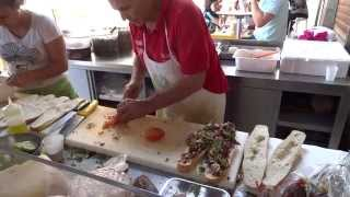 Street Food: Incredible Sicilian Panini/Sandwich
