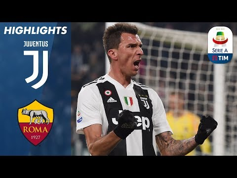 Juventus 1-0 Roma | Mandžukić Header Makes The Difference | Serie A