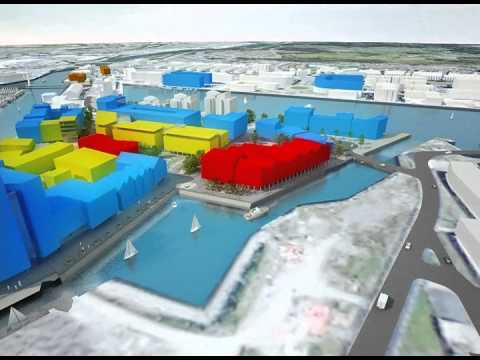 Swansea Waterfront Innovation Quarter Animation
