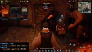 NPC Herb Vendor Nieves and Kaia in Calpheon Power level alchemy! BDO Black Desert Online 1080p